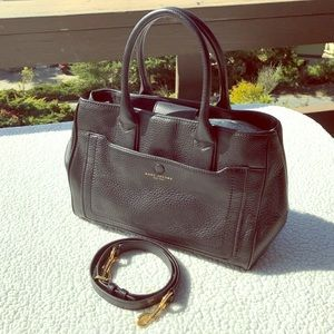 Marc Jacobs Black Leather Empire City Bag